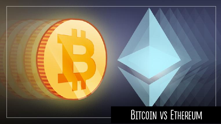 Bitcoin и Ethereum