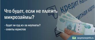 Что будет, если не платить микрозаймы, взятые через Интернет?