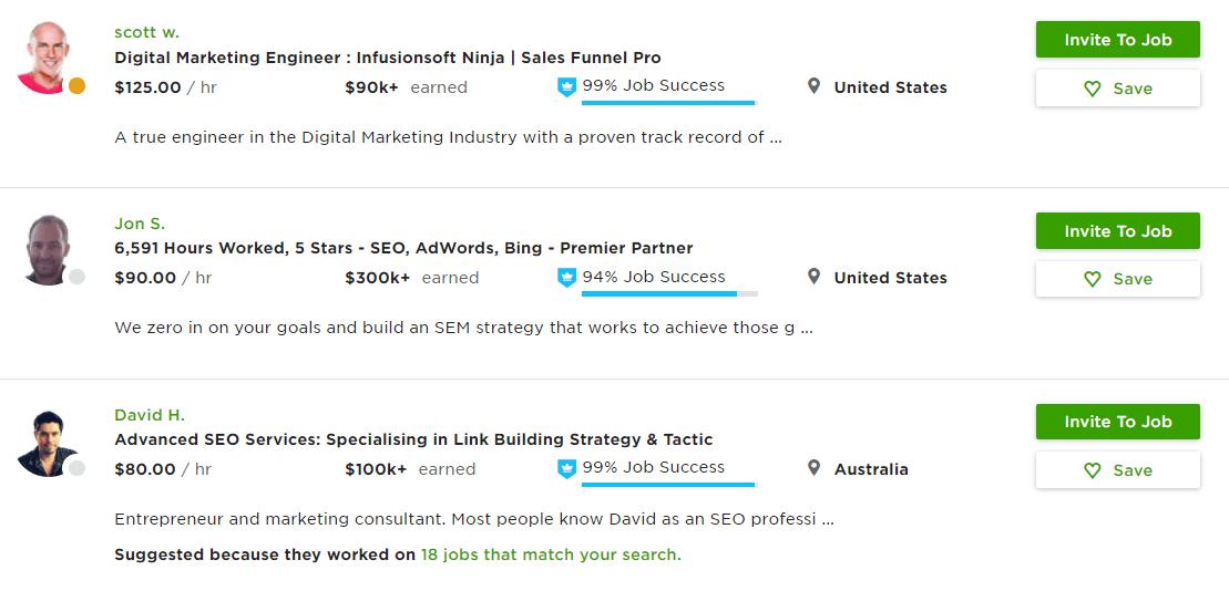 Заработок на Upwork.com