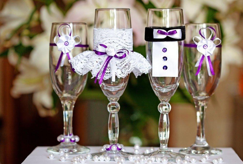 Свадебные украшения, декор