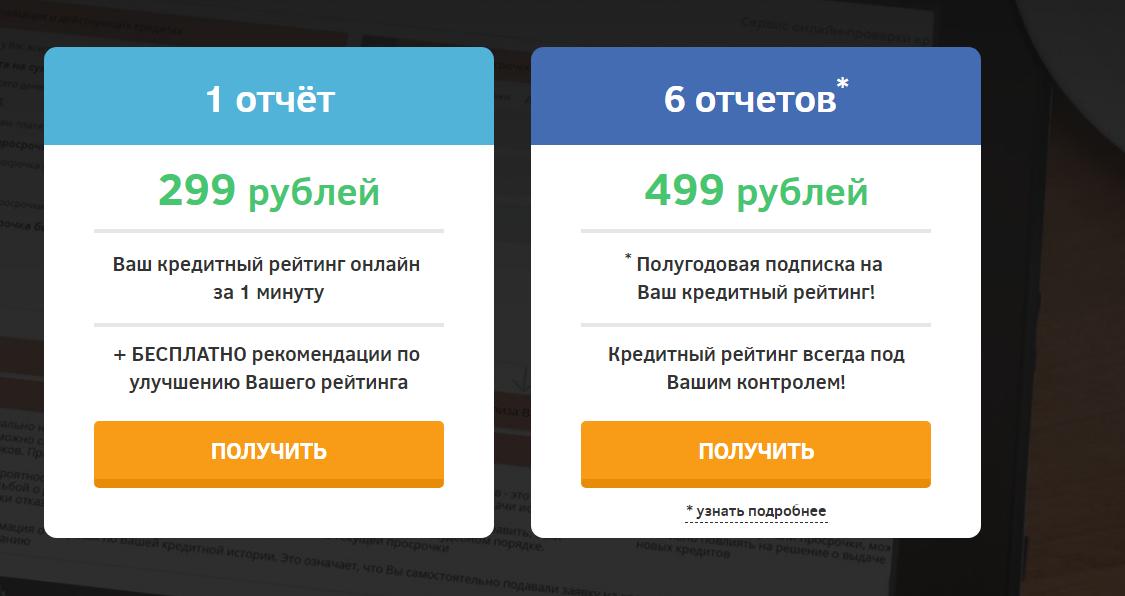 Способы получения сведений о своей кредитной истории онлайн - сервис Мойретинг
