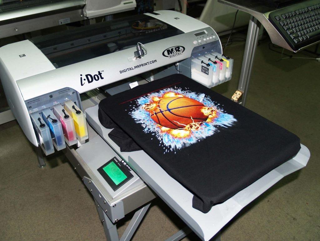 Заработок на печати футболок