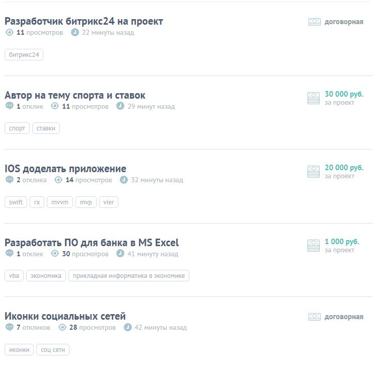 Заработок на freelansim.ru